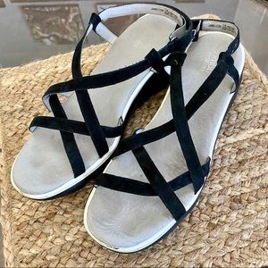 Jambu Ginger Wedge Sandals